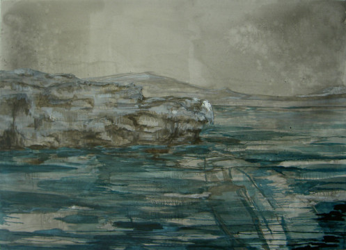 ' On the rocks ( the boat) '