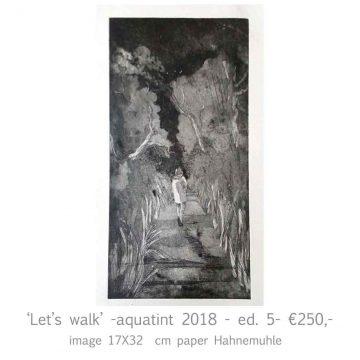 'Let's walk'